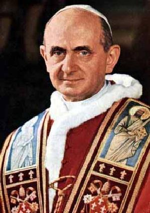 Le pape François annonce la canonisation de Paul VI