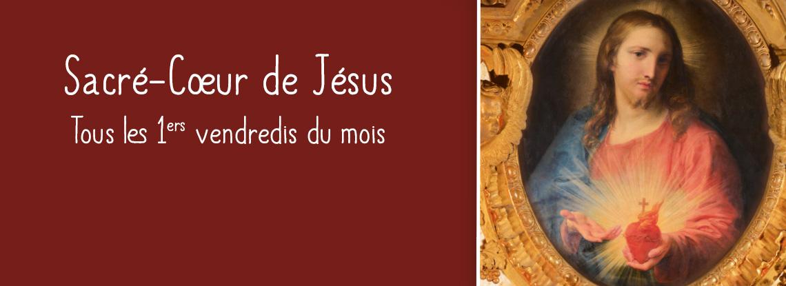 Chaque 1er vendredi du mois dédié au Sacré-Coeur de Jésus – sanctuaire d'Alençon (61)