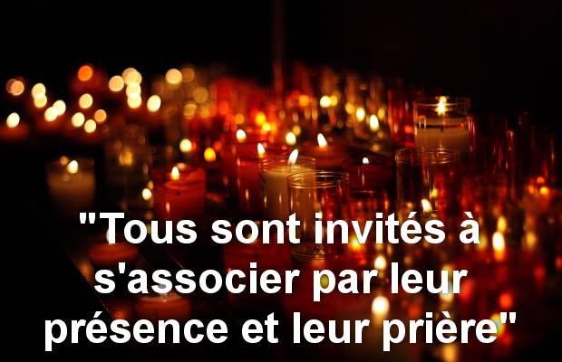 Paris – Messe à l'intention du colonel Beltrame