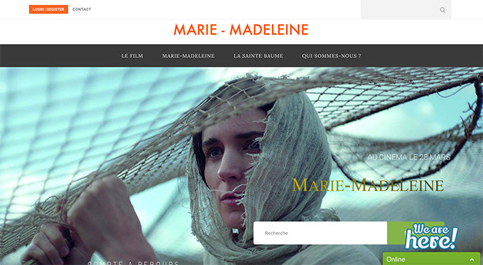 Un nouveau site sur Marie-Madeleine par l'association Lights in the Dark et le sanctuaire de la Sainte Baume, à partager !