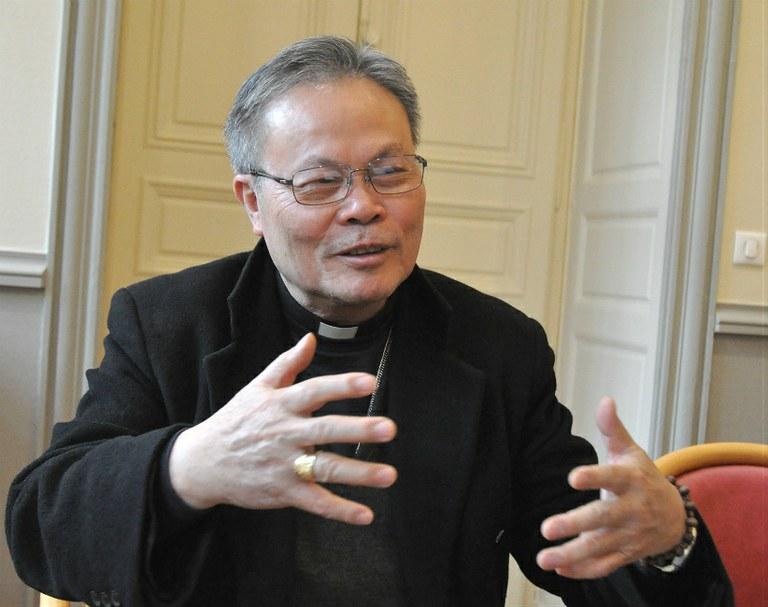 Mgr Linh: «L'Église au Vietnam a besoin de l'aide des Églises sœurs»