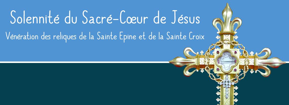 Solennité du Sacré-Coeur de Jésus au sanctuaire d'Alençon (61) les 8 et 9 juin 2018