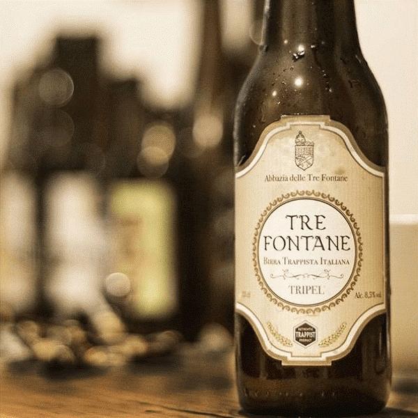 Tre Fontane: la bière trappiste… de saint Paul?