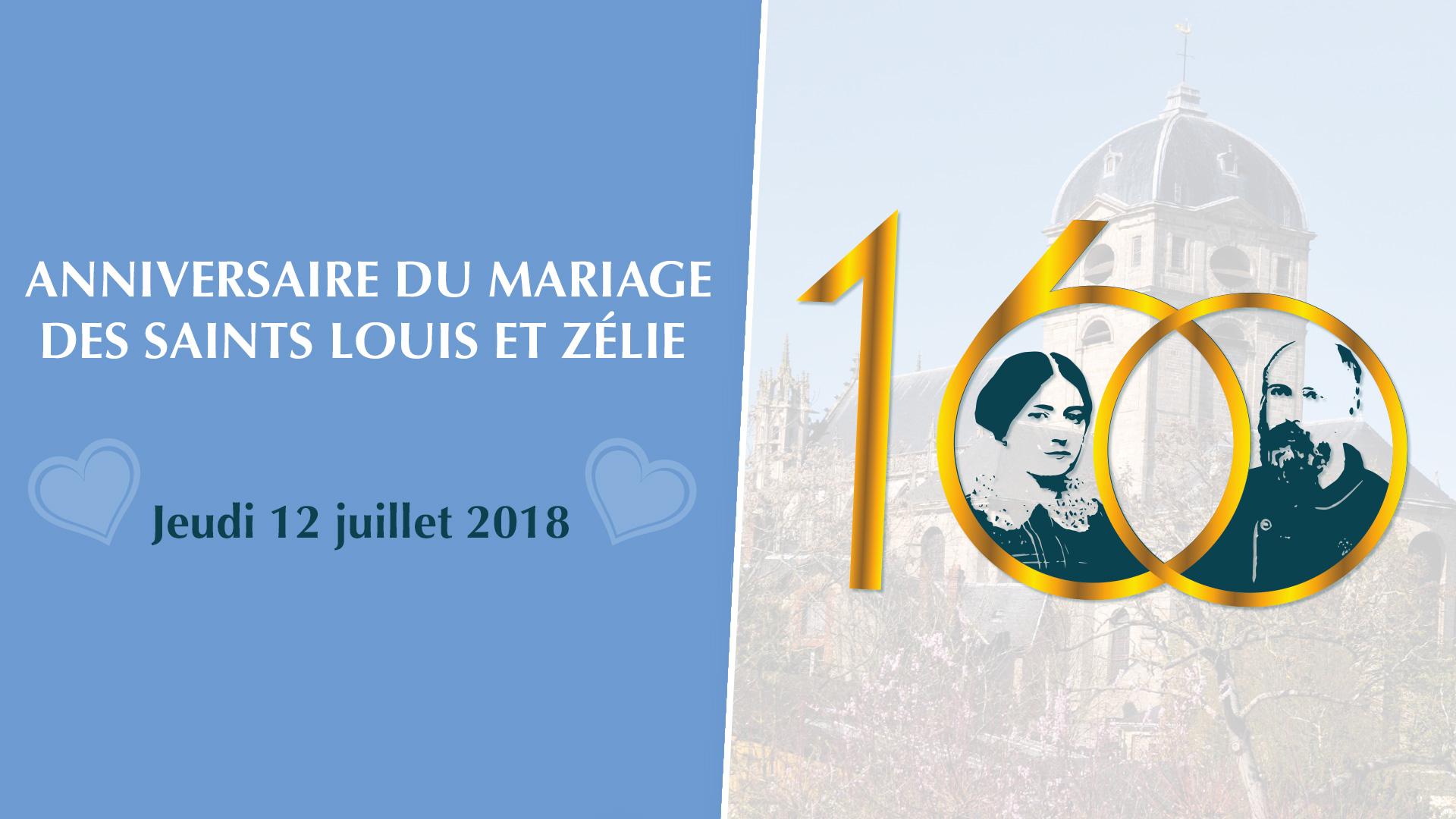 160e anniversaire du mariage des saints Louis et Zélie le 12 juillet 2018 au Sanctuaire d'Alençon (61)