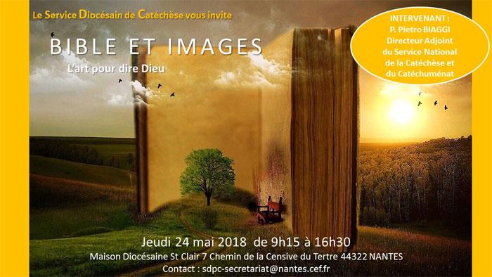 24 mai 2018: Journée sur la place de l'image dans l'annonce de la foi à Nantes (44)