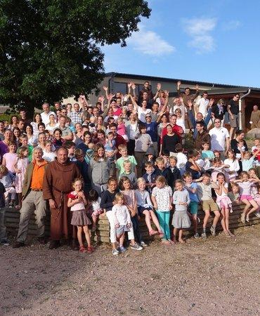 Session des familles du 29 juillet au 4 août 2018 à Ottmarsheim (68) avec les Serviteurs de Jésus et Marie