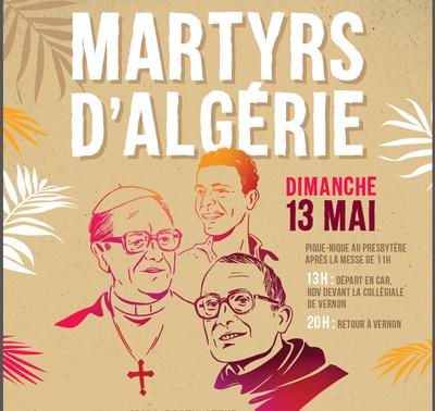 Rencontre avec le frère Thomas, postulateur de la cause des martyrs d'Algérie, à l'Abbaye de Soligny La Trappe (61) le 13 mai 2018