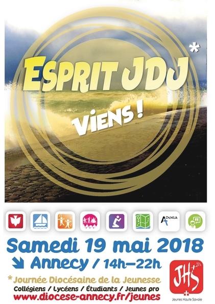 Journée diocésaine des jeunes à Annecy (74) le 19 mai 2018