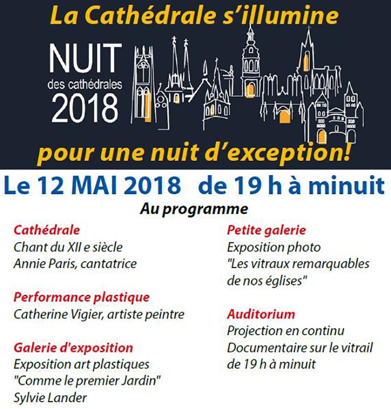 Nuit des cathédrales le 12 mai 2018 à Créteil (94)