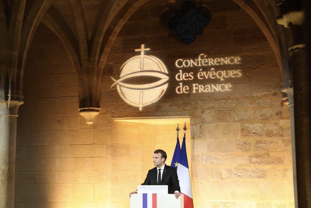 Réponse à Macron aux Bernadins – Les conditions sine qua non pour les catholiques