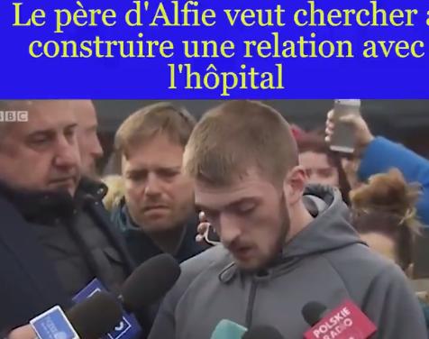 Vidéo – Le père d'Alfie Evans s'adresse à la presse et à l'hôpital