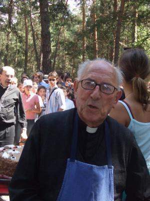Le père de Monteynard, fondateur de l'Eau vive, en soins palliatifs