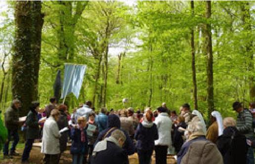 Neuvizy (08): pèlerinage des personnes malades et handicapées le 11 mai 2018