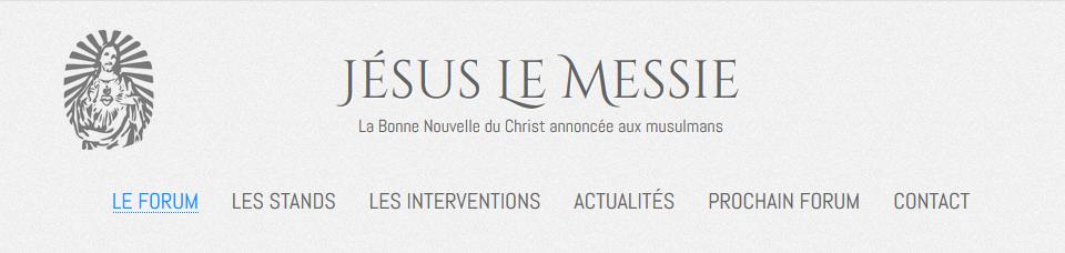 Prochain Forum Jésus Le Messie les 26 et 27 mai 2018 à Paris