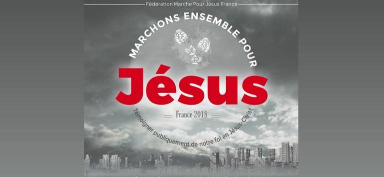 18e Marche pour Jésus le 26 mai 2018 à Strasbourg (67)