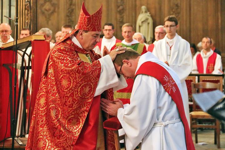 Ordination de Vincent Cardot le 3 juin 2018 à Langres (52)