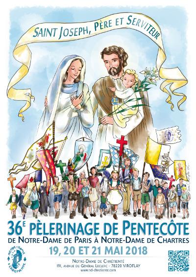 Pèlerinage de Chartres (28) de Notre-Dame de Chrétienté du 19 au 21 mai 2018