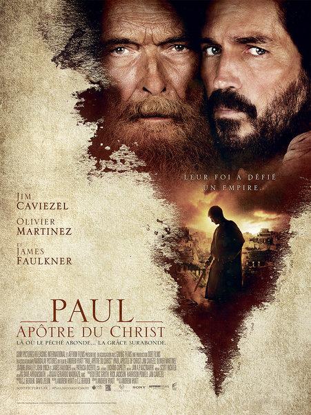 Film: «St Paul, apôtre du Christ» – le 5 juin 2018 à Saint-Chamond (42)