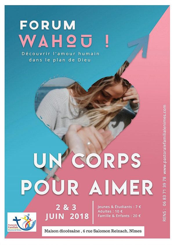 Forum Wahou les 2 et 3 juin 2018 à Nîmes (30)