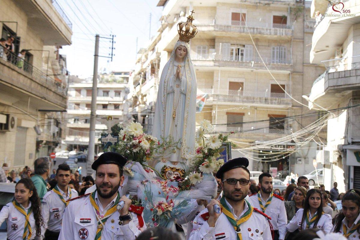 Alep: anniversaire de la consécration de la ville à Notre Dame de Fatima