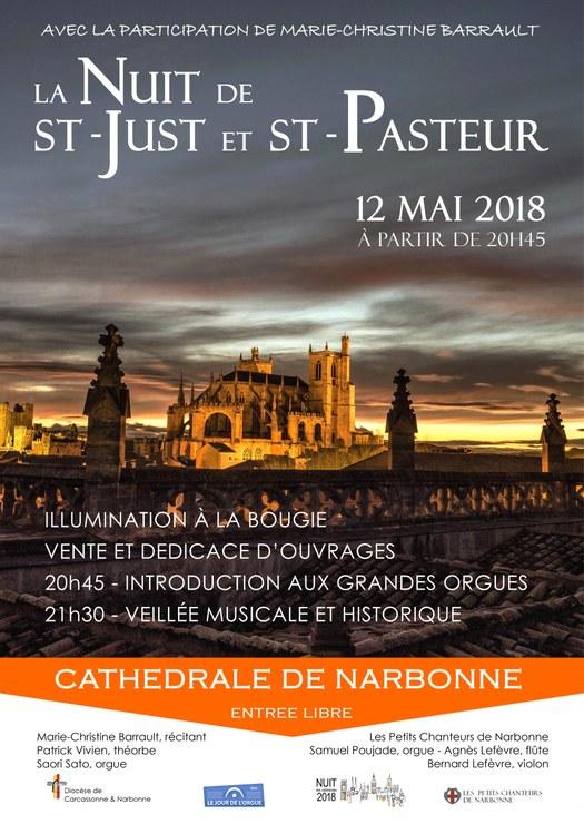 Nuit des cathédrales à Narbonne (11) le 12 mai 2018
