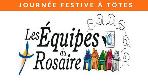Rassemblement diocésain (Rouen) des Équipes du Rosaire à Tôtes (76) le 17 mai 2018