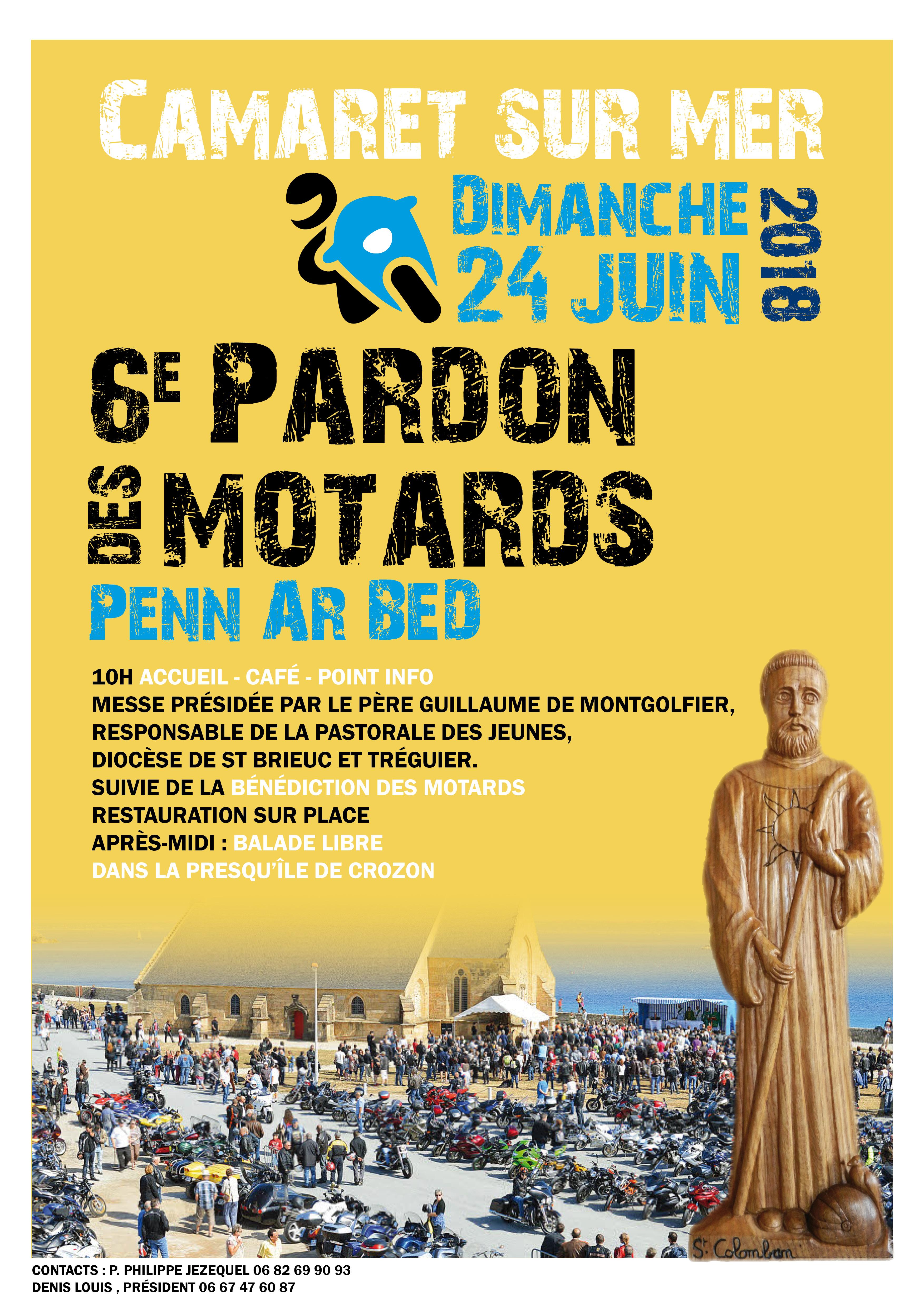 Pardon des Motards Penn ar Bed à Camaret-sur-mer (29) le 24 juin 2018
