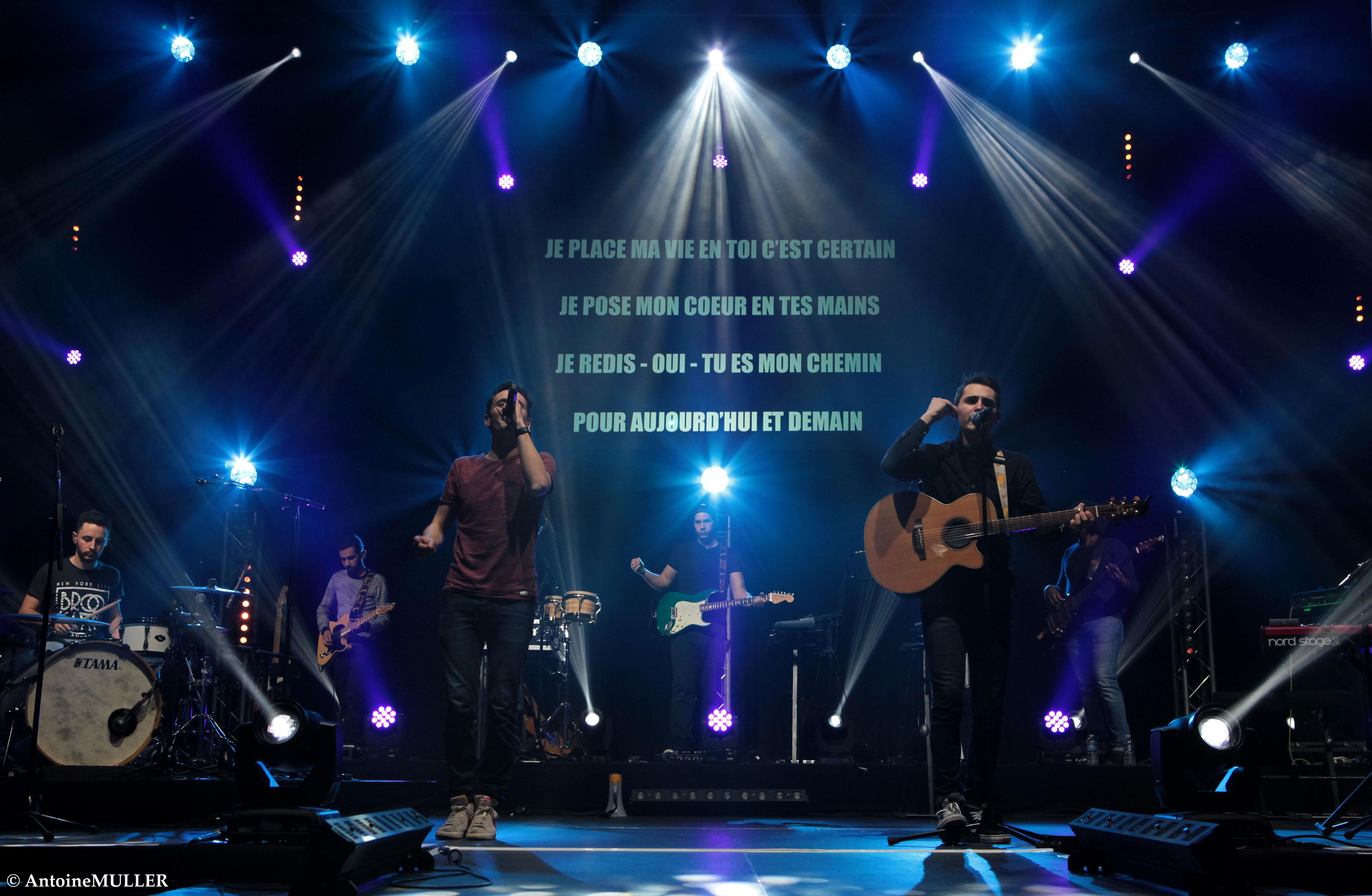 Concert du groupe Hopen le 2 juin 2018 à Colombes (92)