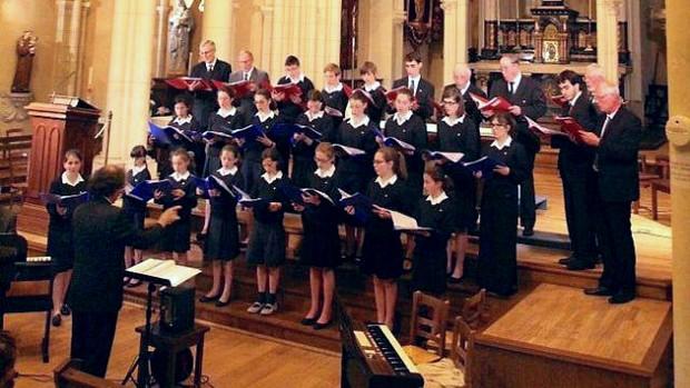 Concert des Petits Chanteurs de Saint-Martin le 9 juin 2018 à Cesson-Sévigné (35)