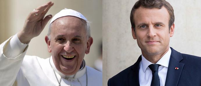 Macron reçu par le Pape François: prions Sts Pierre et Paul – Du 22 au 30 juillet 2018 – Hozana.org
