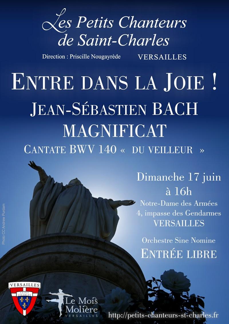 Concert des Petits Chanteurs de Saint Charles le 17 juin 2018 à Versailles (78)