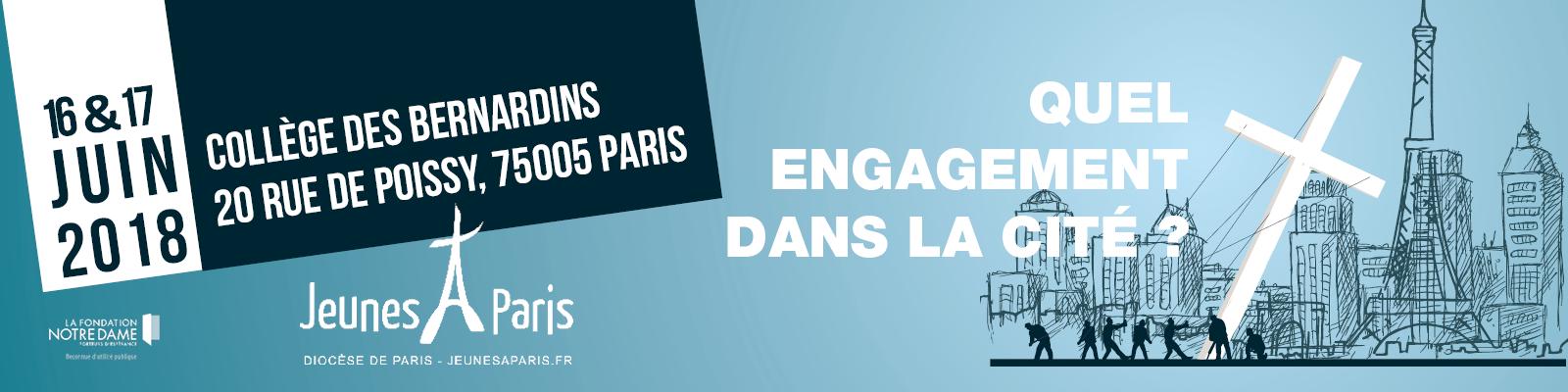 L'engagement des Chrétiens dans la Cité – week-end d'enseignement les 16 & 17 juin à Paris