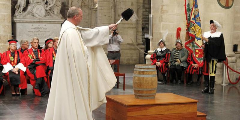Le pape reçoit des maîtres brasseurs de bière