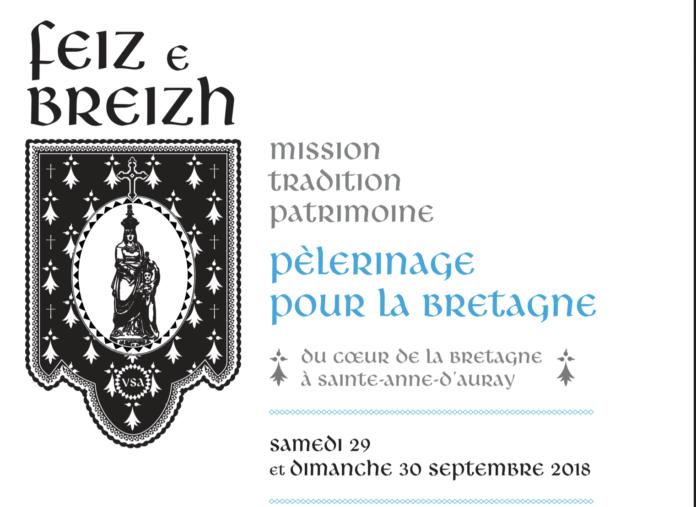 Sainte-Anne d'Auray (56) – Pèlerinage pour la Bretagne, les 29 et 30 septembre 2018