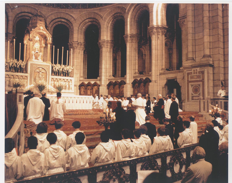 Discours de saint Jean-Paul II au Sacré Cœur de Montmartre