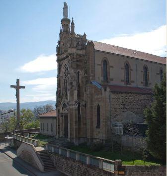Veillées mariales à la chapelle de Notre Dame du Bon Secours de Saint-Etienne (42) le 12 juin 2018 et le 12 de chaque mois