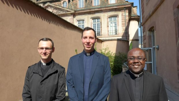 Trois ordinations sacerdotales le 24 juin 2018 à Strasbourg (67)