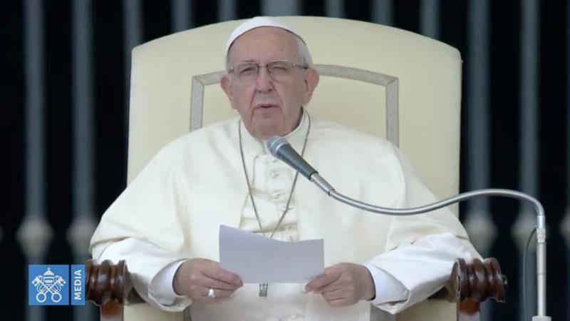 Le pape commence une série de catéchèse sur les commandements