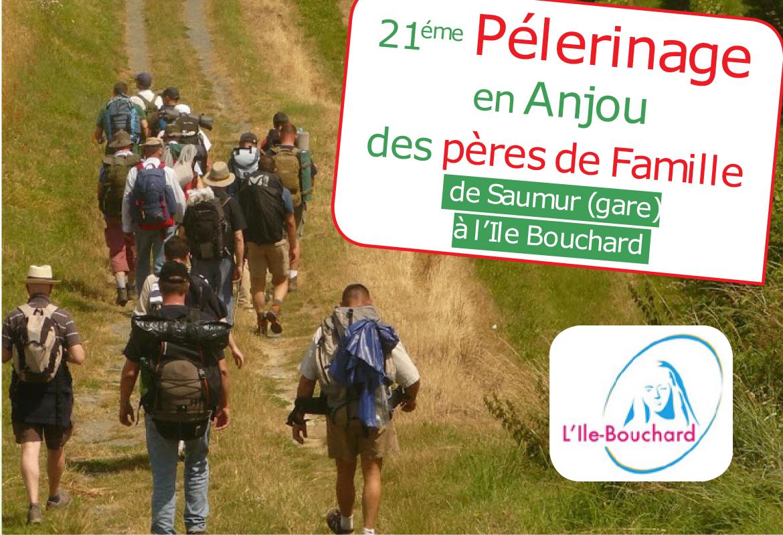 Pèlerinage des Pères de famille de Saumur (49) à L'Île-Bouchard du 29 juin au 1er juillet 2018
