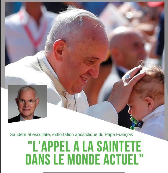 """Conférence de Mgr Carré sur """"L'appel à la sainteté dans le monde actuel"""" le 25 juin 2018 à Bézier (34)"""
