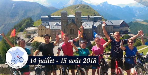 Le Grand AIME de Marie, à vélo pour la France du 14 juillet au 15 août 2018: une initiative à soutenir!