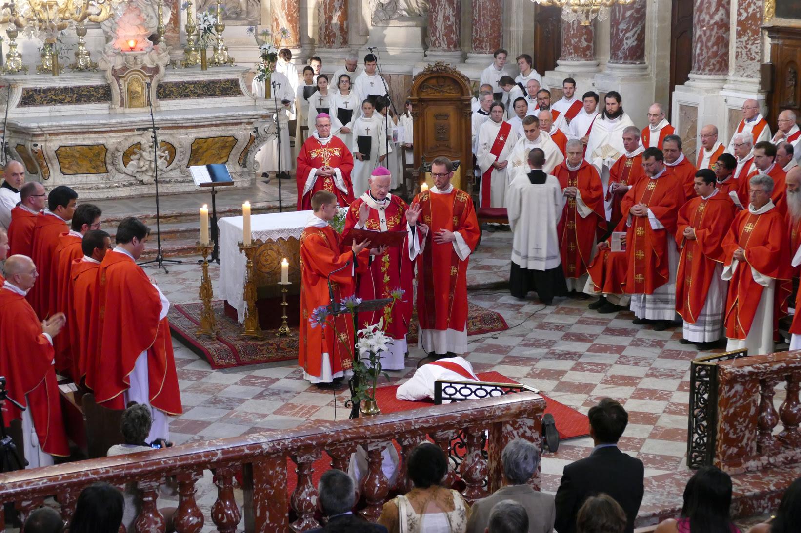 Ordinations à Montpellier (34) le 24 juin 2018