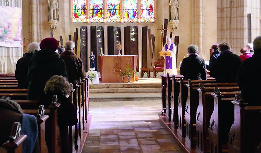 Diocèse de Luçon: la Vierge de Pontmain en visite aux Vendées