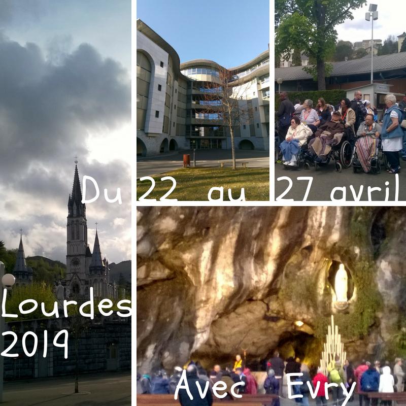 Pèlerinage à Lourdes (65) au service des malades avec l'Hospitalité d'Evry du 22 au 27 avril 2019