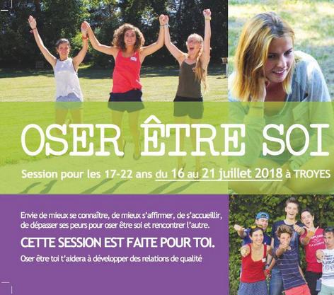Oser être soi – session pour les 17-22 ans par le CLER du 16 au 21 juillet 2018 à Troyes (10)