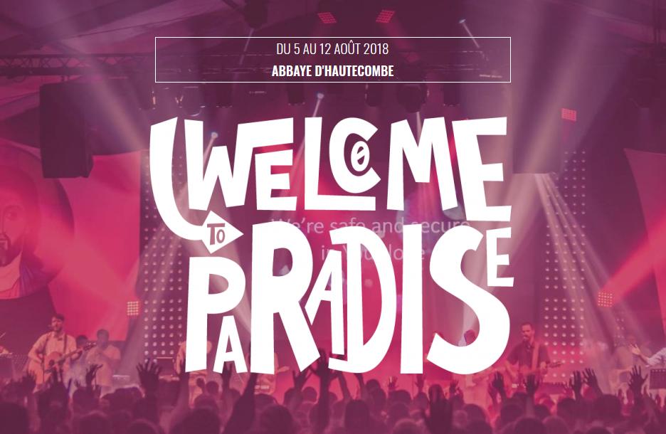 """Festival International """"Welcome to Paradise"""" du 5 au 12 août 2018 à l'Abbaye de Hautecombe (73)"""