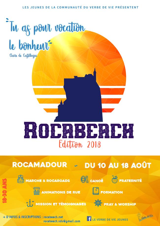 Pour les 18-30 ans: Rocabeach édition 2018 du 10 au 18 août 2018 à Brive-la-Gaillarde (19)