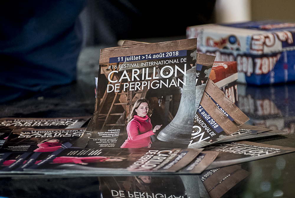 16e festival international du carillon jusqu'au 14 août 2018 à Perpignan (66)