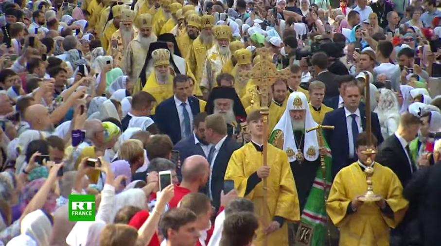 """Poutine: """"le christianisme est le fondement de l'Etat russe"""""""