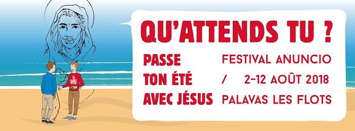 Festival Anuncio du 2 au 12 août 2018 à Palavas-les-Flots (34)